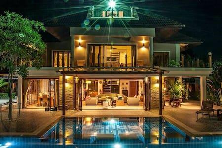 Beach Front Holiday House - Cha Am Phetchaburi - Talo