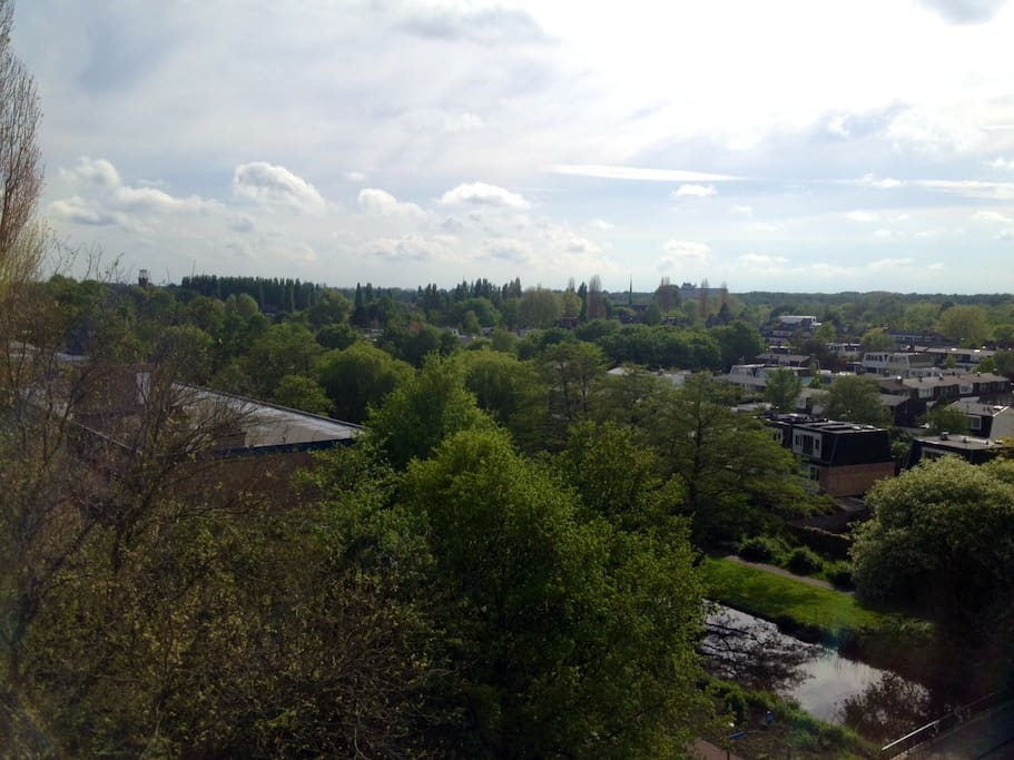 Overview from Amstelveen