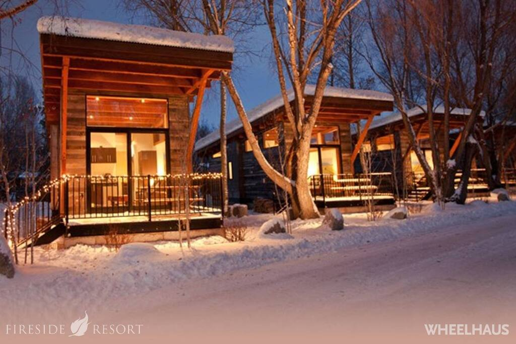 Jackson Hole Winter Luxury Cabins.