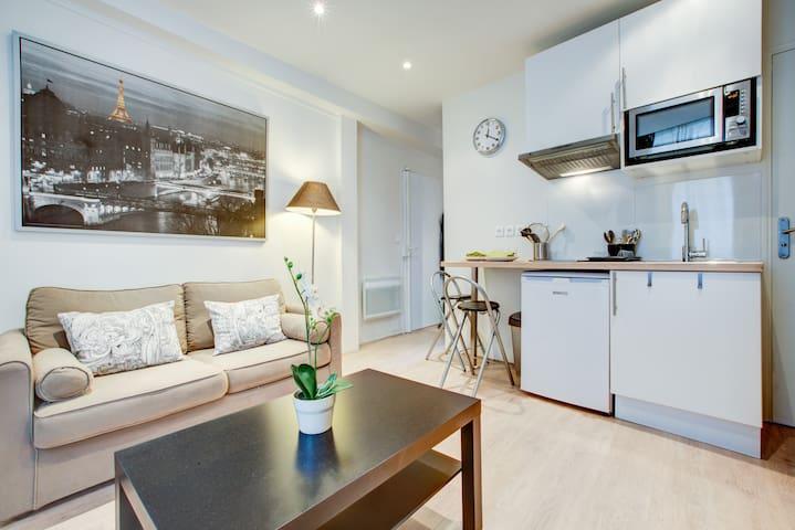 2 room apartment Notre Dame-Jussieu