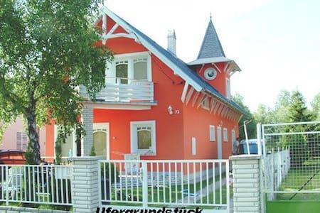 Ferienhaus in absoluter Traumlage - Balatonmáriafürdő - Talo