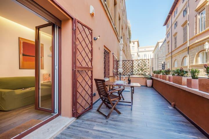 Rinascimento Terrace | Near Piazza Navona