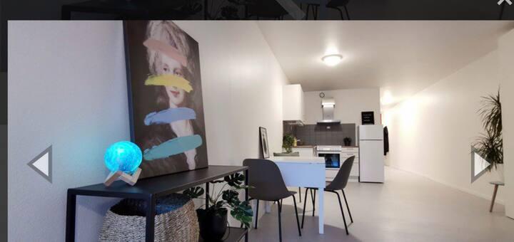 Fin leilighet i Oslo sentrum.