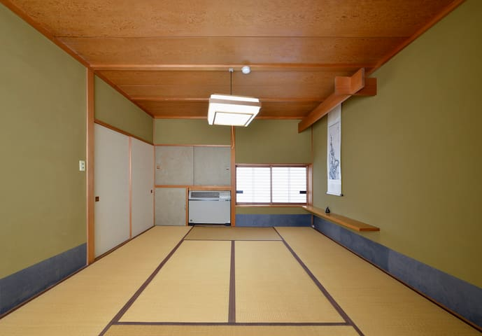 [Traditional Japanese Style Room 2] ZEN Hostel - Yamanouchi