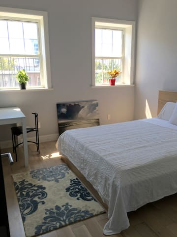 Bright and clean room in a quaint neighborhood