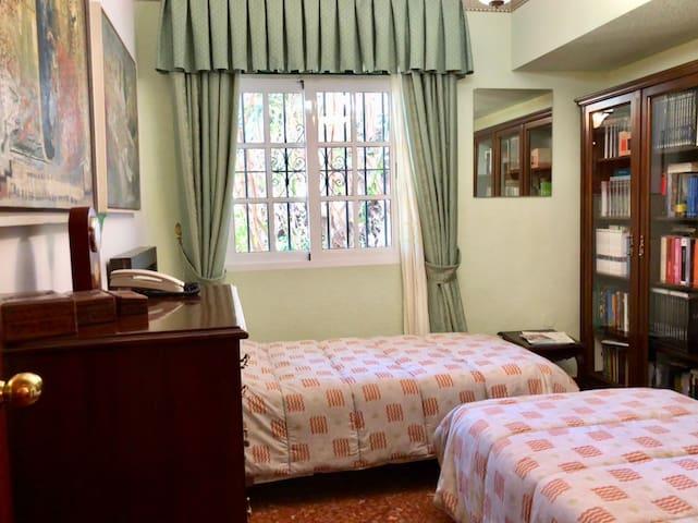 bedroom in the ground floor