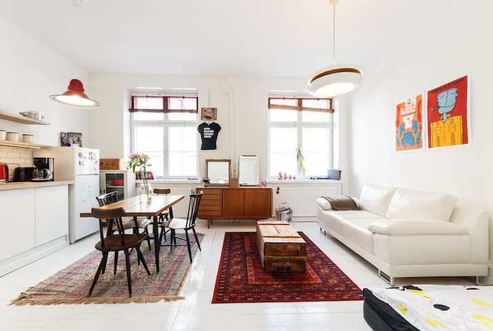 Scandinavian, urban and central! - Helsinki - Appartement