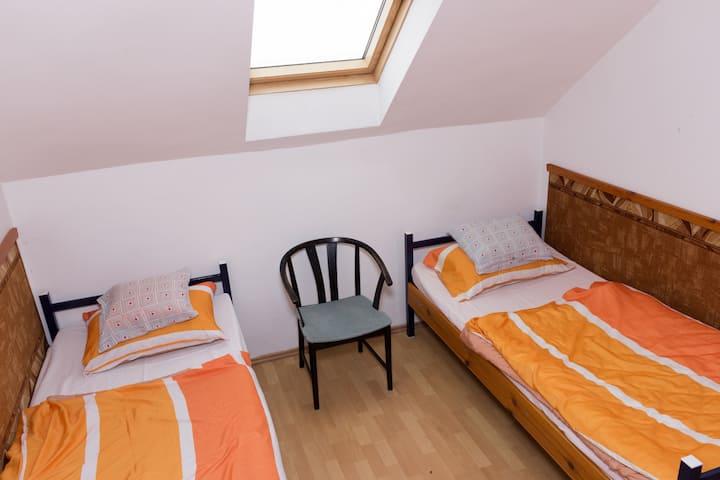Hostel Alexander upstairs 2 beds