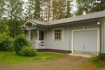 Cosy and nice house with a lake vew - Rantasalmi assemaa - House