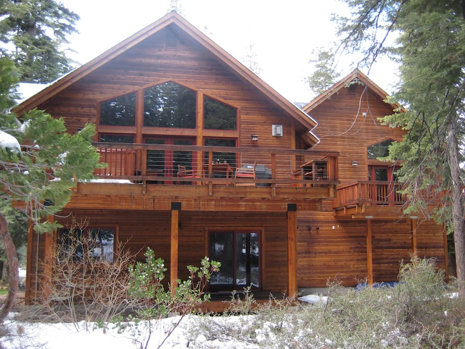 Slt dundee custom mountain cabin cabins for rent in for South lake tahoe cabins near casinos