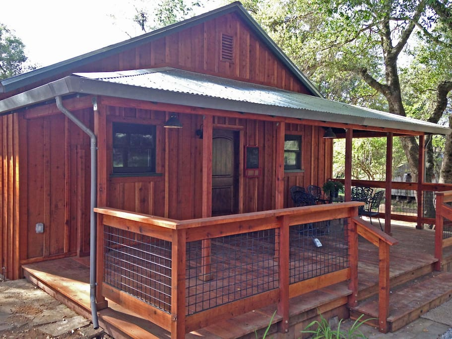 Front view of the Crush Pad Vacation Rental