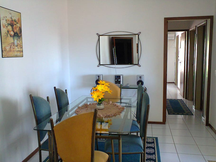 Pleasant and sunny apartment in a peaceful and safe location.