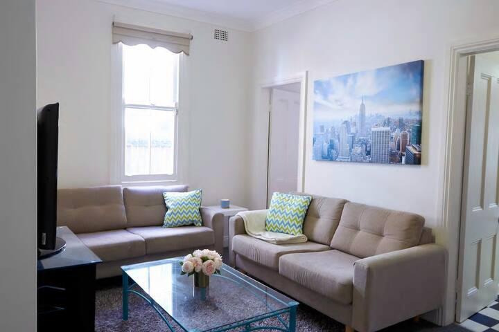 Lovely Bedroom inside a Terrace Style Home