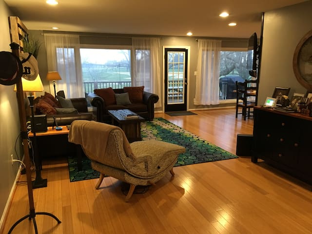 Danville Home with a View....and a HUGE Bar/Lounge