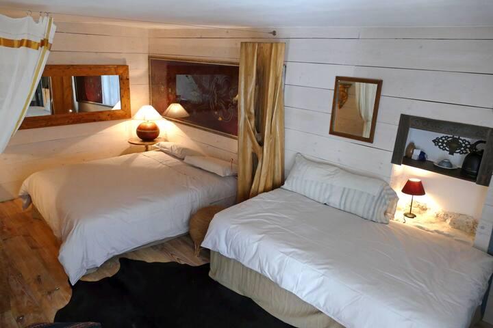 Chambre de charme au pied de Bargème : La Souche
