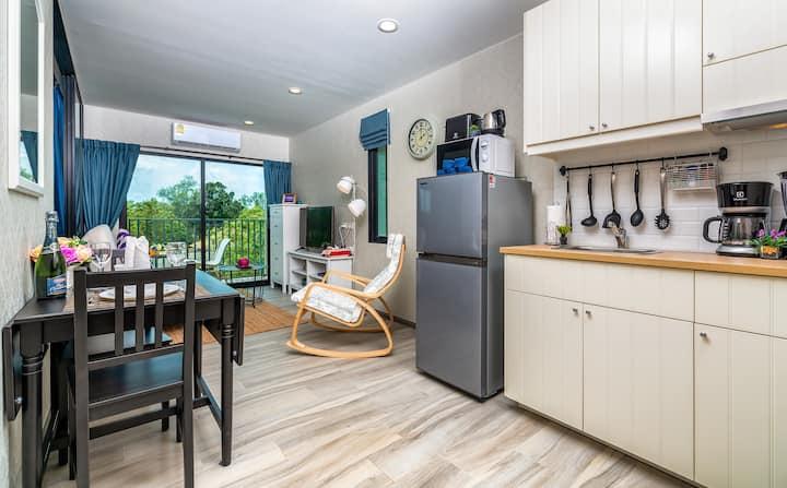 Comfy 1 Bedroom Apartment @Nai Yang beach – 250m