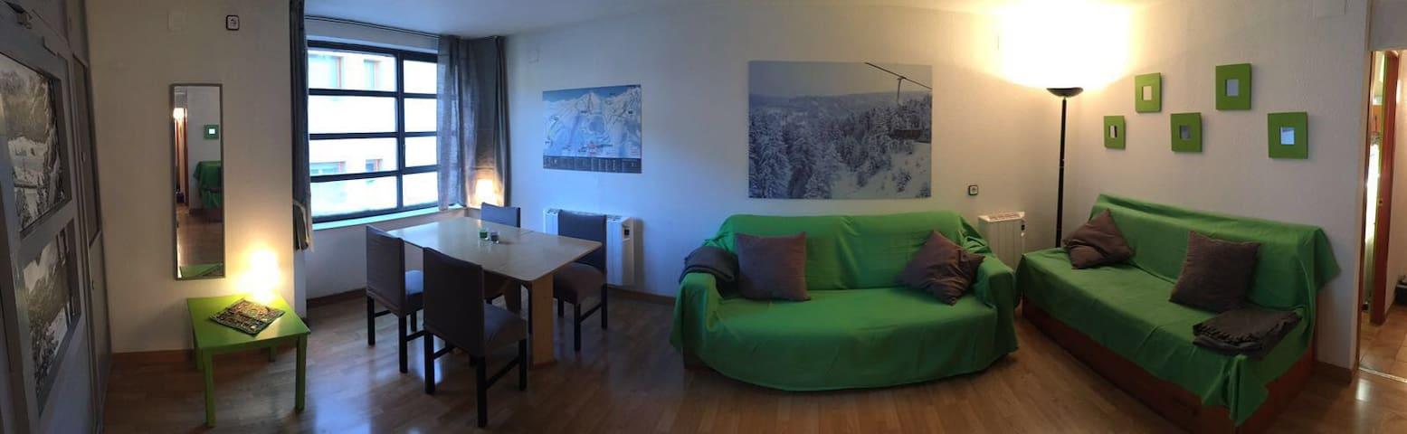 2-3 Apartamento Pie de Pistas. - Alp - Apartmen