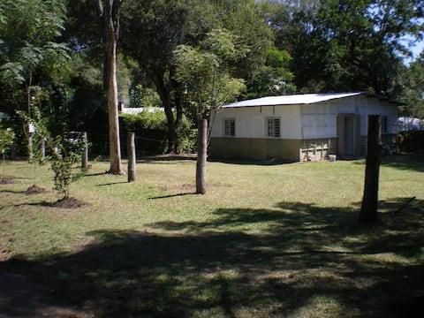 Casa de Campo hasta 9 huéspedes Paso de la Patria