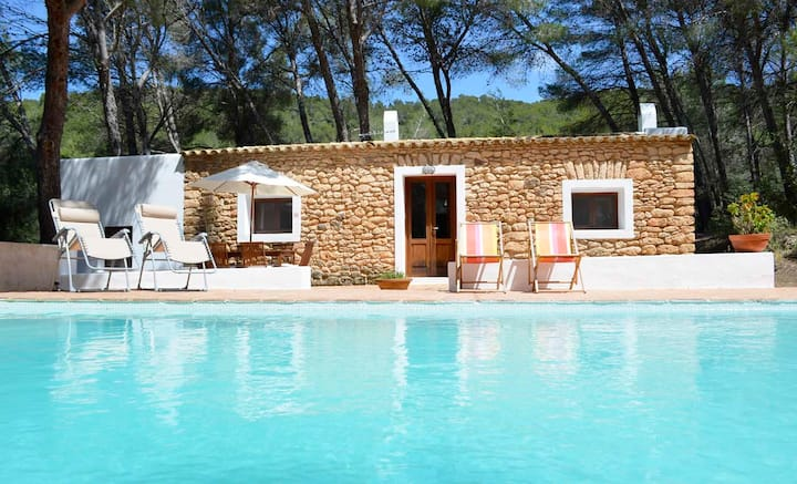 Cozy house with pool in a quiet area close to Santa Gertrudis village -ET-0573-E-