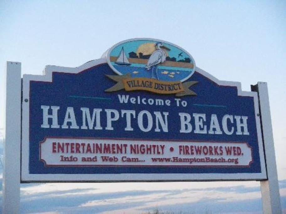 Welcome to Hampton Beach