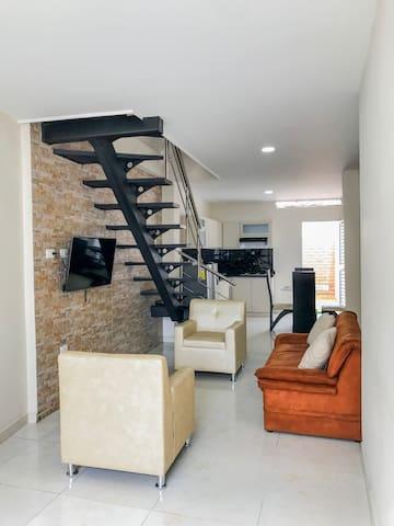 Casa completamente amoblada