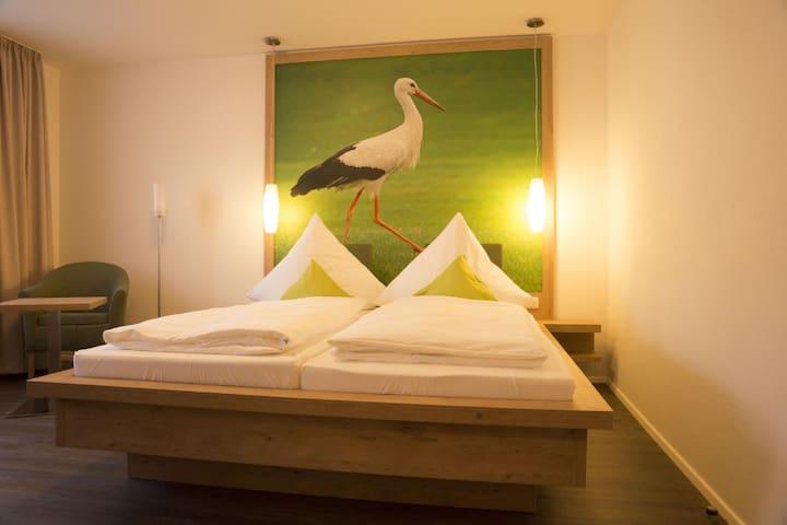 Gasthaus Schwarzer Adler (Colmberg), Einzelzimmer