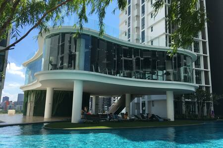 H2O Residences- Medium Room @ Luxurious facilities