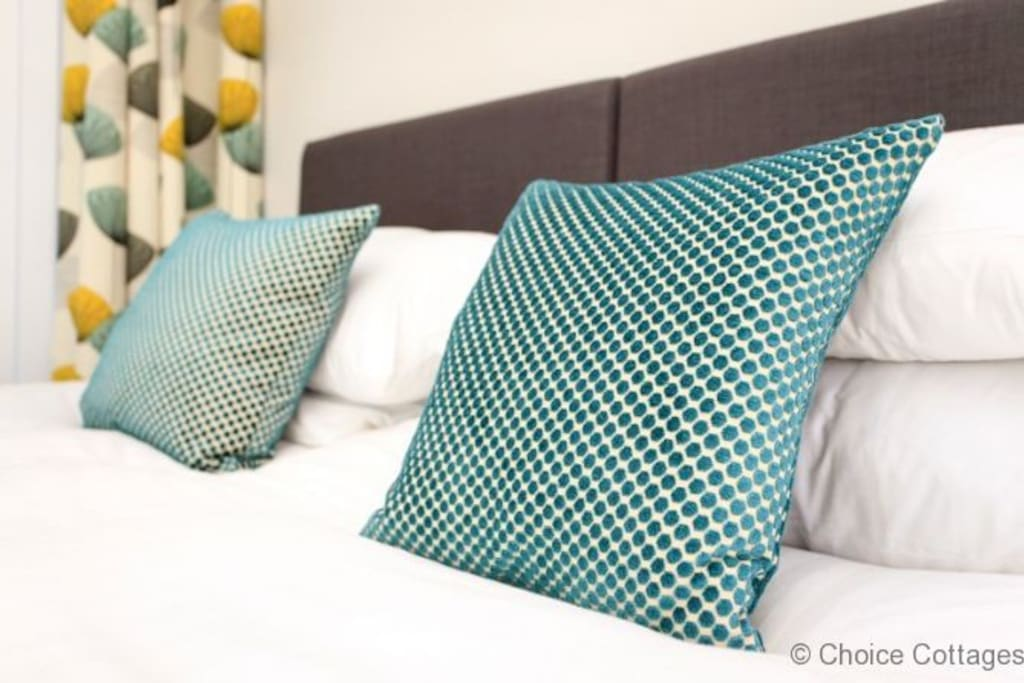 Quality linen on all of the beds