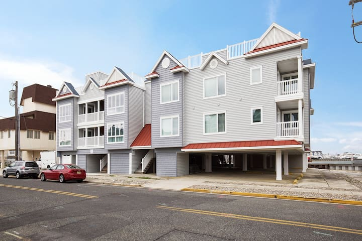 Two bedroom / two bath condo on the bay - Stone Harbor - アパート