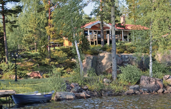 Awesome home in Fröseke with Sauna and 3 Bedrooms