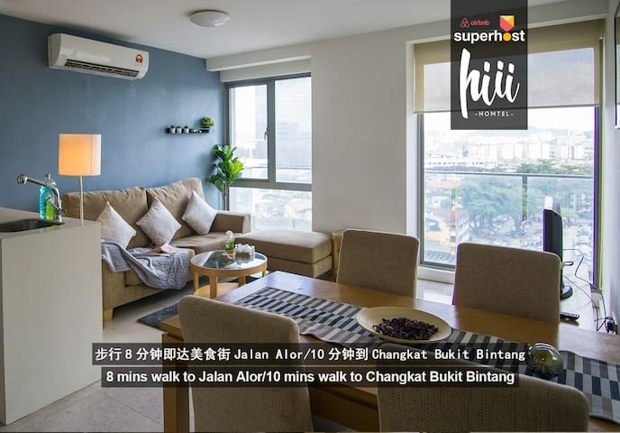 Perfect location@Bukit Bintang& CITY VIEW-KUL006