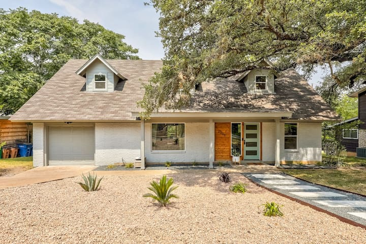 Amazing curb appeal with driveway and street parking