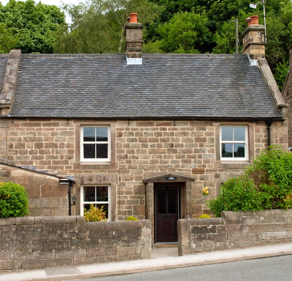 Our lovely traditional stone cottage