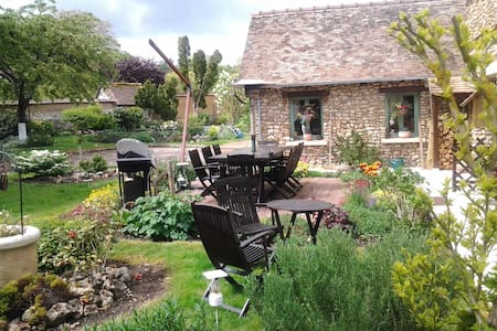 B&B Charming house near Giverny - Saint-Pierre-de-Bailleul - Haus