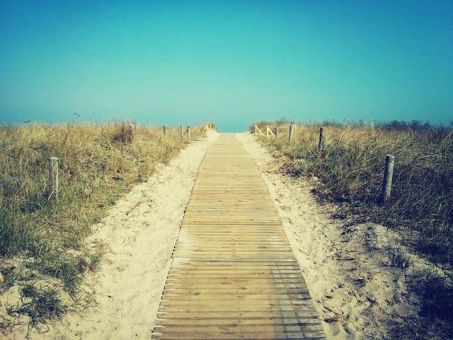 Süße Ferienwohnung in Strandnähe  - Warnemünde - Wohnung