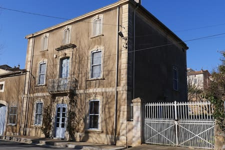 Location maison de maître Bizanet - Bizanet