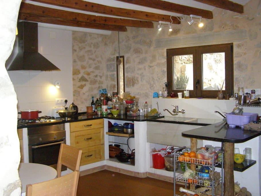 La cocina, our kitchen