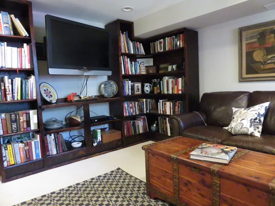 TV and library
