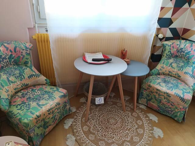 La chambre ORIANE,cosy & douillette