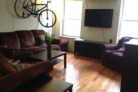 Cozy private bedroom available in 3 bedroom East Village / Union Square apartment.