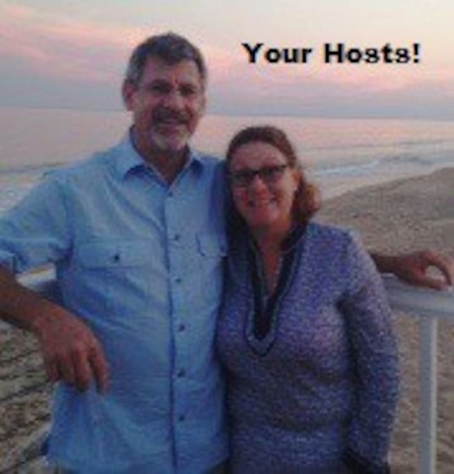 "Carolyn D. and Dave R. Welcome you to your ""Home Away from Home""."