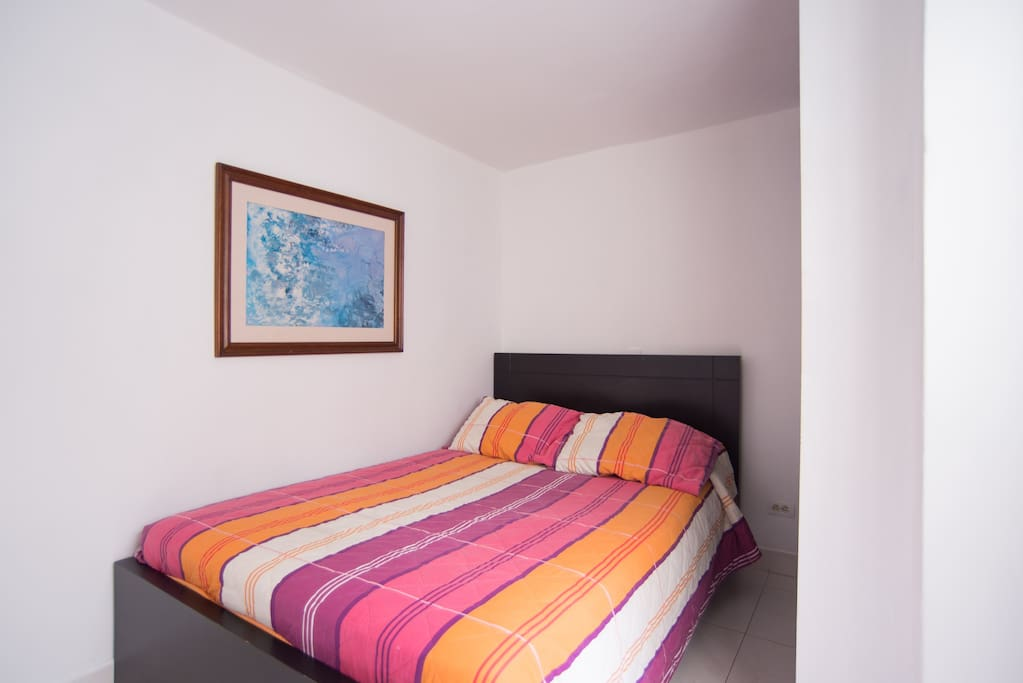 Cama doble. Double bed