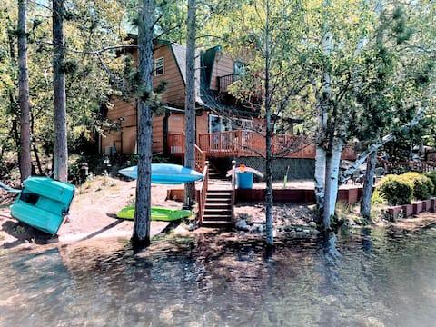 Little Bear Lake Hideaway- Lakefront Living