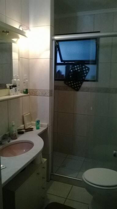 Shared toilet/shower room