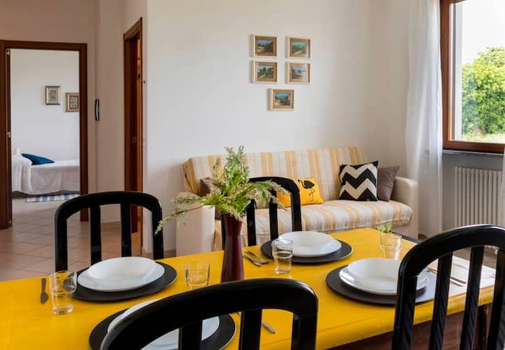 Casa Carnaroli: in campagna con comfort sicuro
