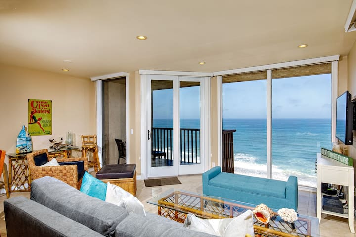 Enjoy some SEACLUSION in this 1BR Oceanfront Condo