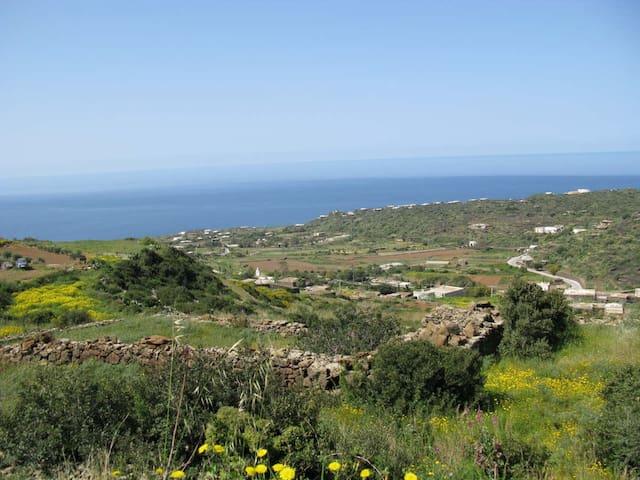 DAMMUSIVACANZE: Dammuso Panoramico - Pantelleria - Lägenhet