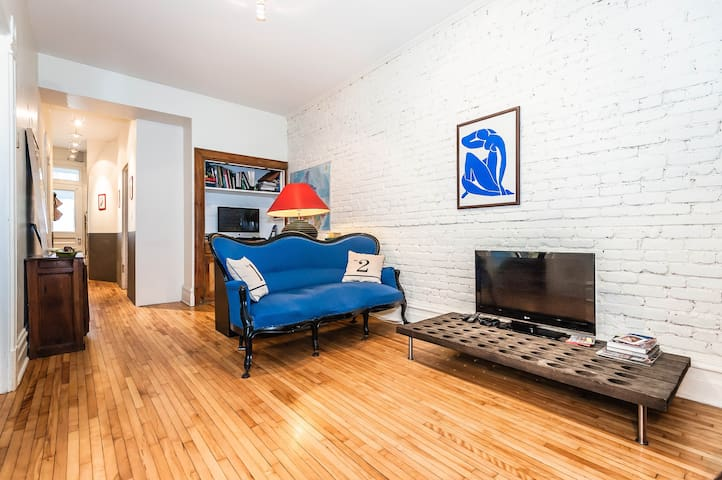 Typical appartment from Montreal - Montréal - Huoneisto