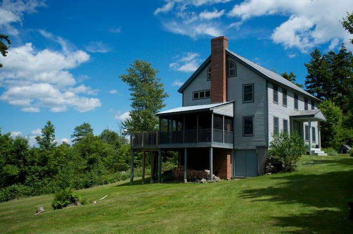 Mountain Paradise on 17 Acres - 4BD - Plymouth - Huis