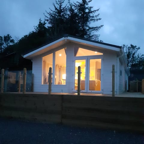 Lake District Holiday Lodge with views of Skiddaw